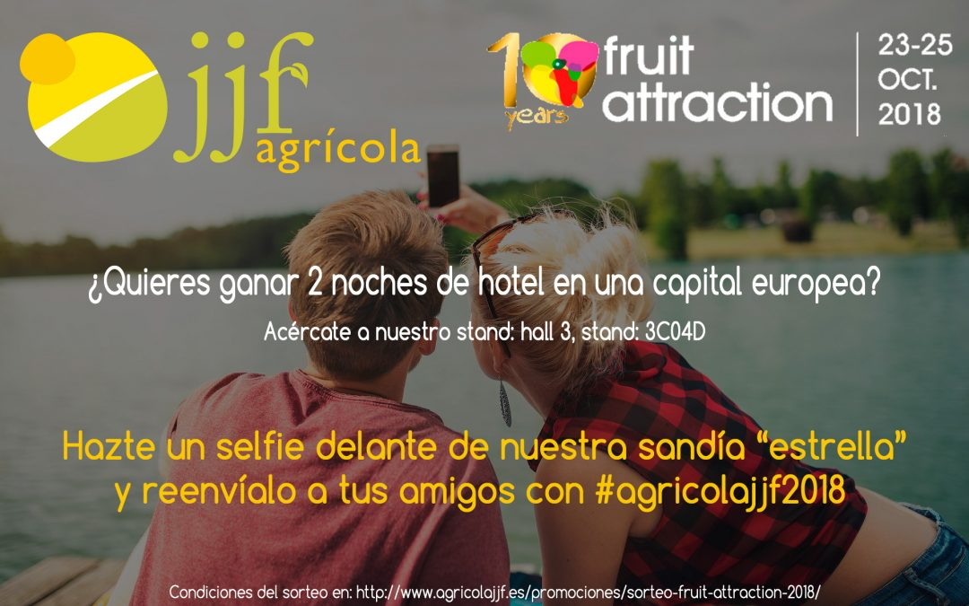 Sorteo Fruit Attraction 2018